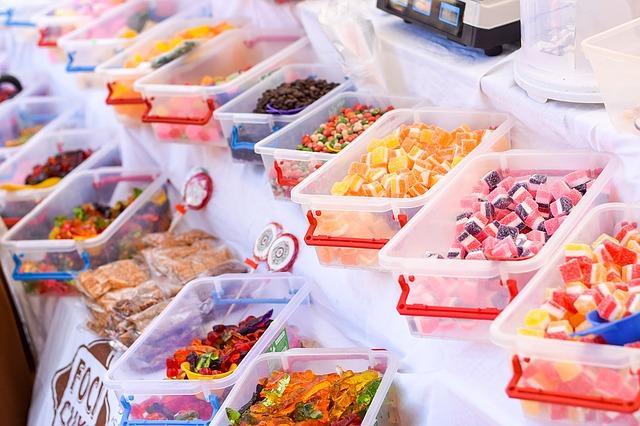 Uzależnienie od słodyczy, słodycze